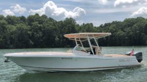 Boating on Lake Lanier
