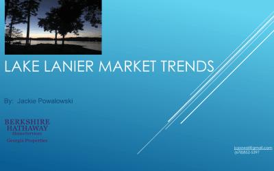 Lake Lanier Real Estate Market Trends